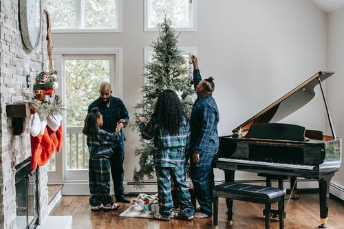 Family Christmas Singing
